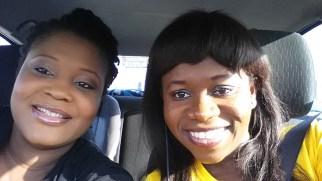 Otibhor & I on our way to TE14