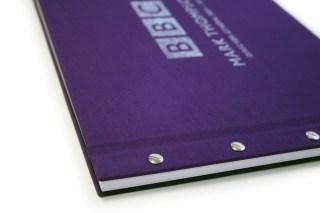 Way one - Screw post binding