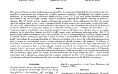 VELOXITI Releases New Aviation Paper