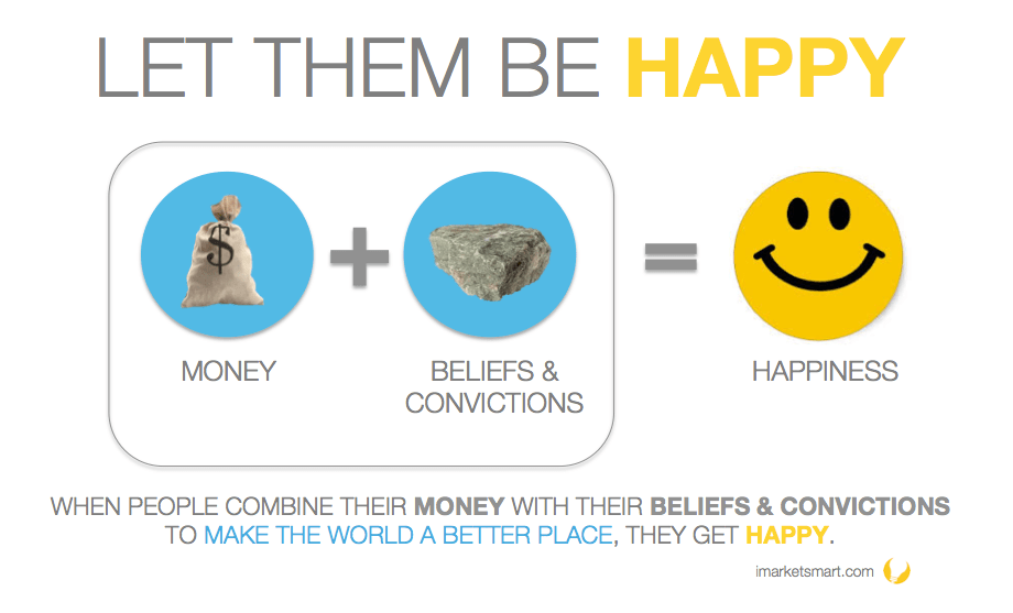 let your donors be happy