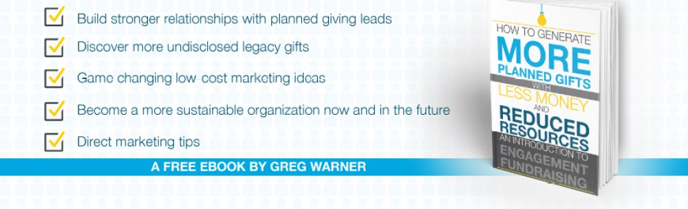 how to generate more planned gifts eBook banner