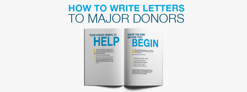 How to write fundraising appeal letters