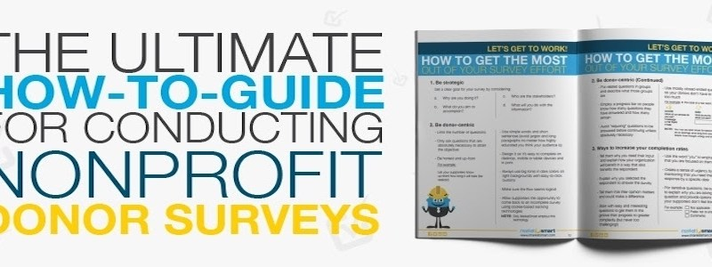The ultimate guide for conducting donor surveys