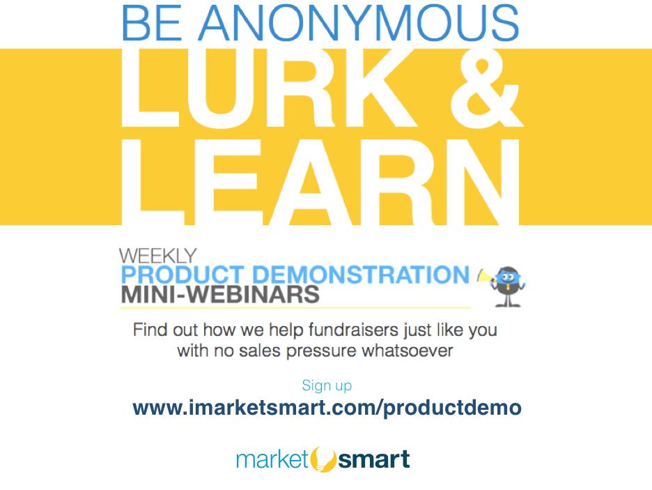 lurk & learn with marketsmart