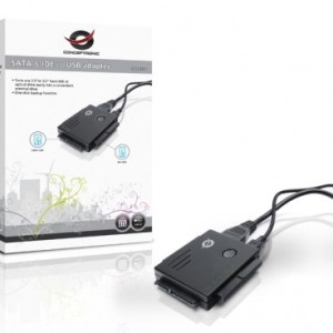 Adaptador Conceptronic USB to SATA & IDE - CSATAI23U