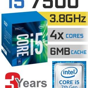Processador INTEL Core i5 7500-3.4GHz 6MB LGA1151