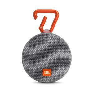 Coluna Portátil JBL CLIP2 Bluetooth 3W c- Microfone 8h Cinza