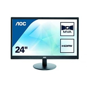Monitor  AOC M2470SWH 23.6'  5MS D-SUB 2HDMI
