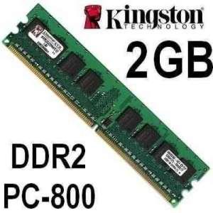 Memória RAM 2GB DDR2-800