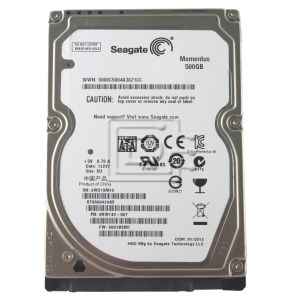 HDD SEAGATE 2.5' 500GB SATA