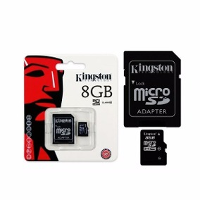 Cartao Memoria  KINGSTON SDHC 8Gb Classe 4 -SDHC4-8GB