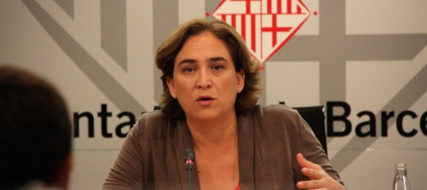 Ada Colau, batllessa de Barcelona