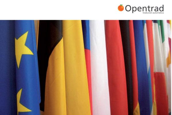 Opentrad, sistema de tradución automática