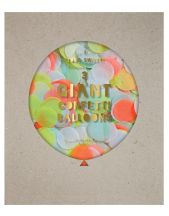 Globo gigante confetti