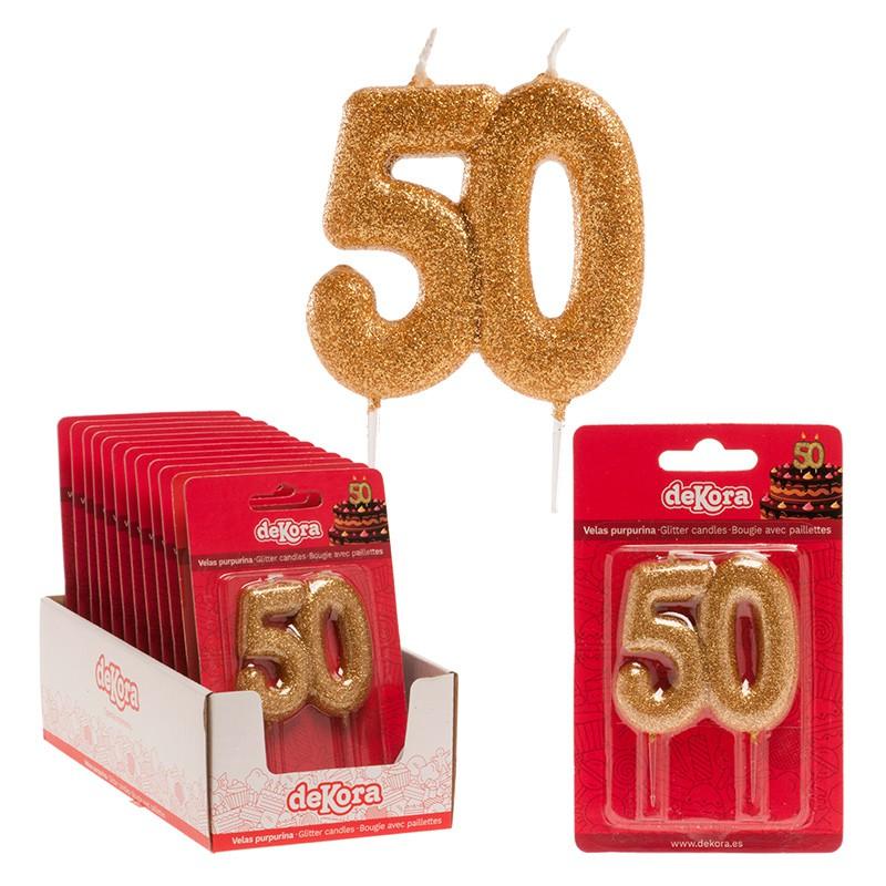 Velas-50-oro