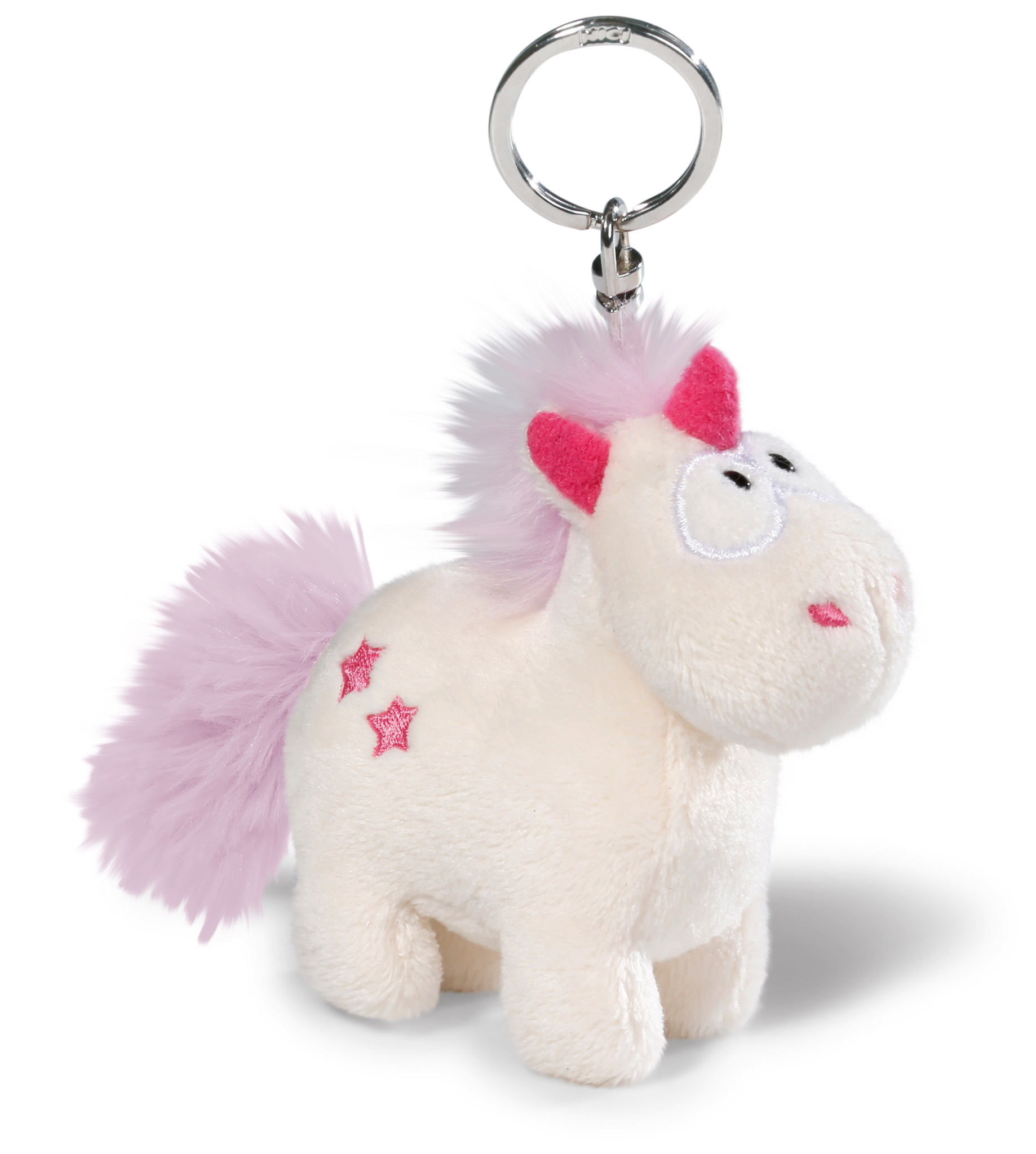 llavero unicornio blanco