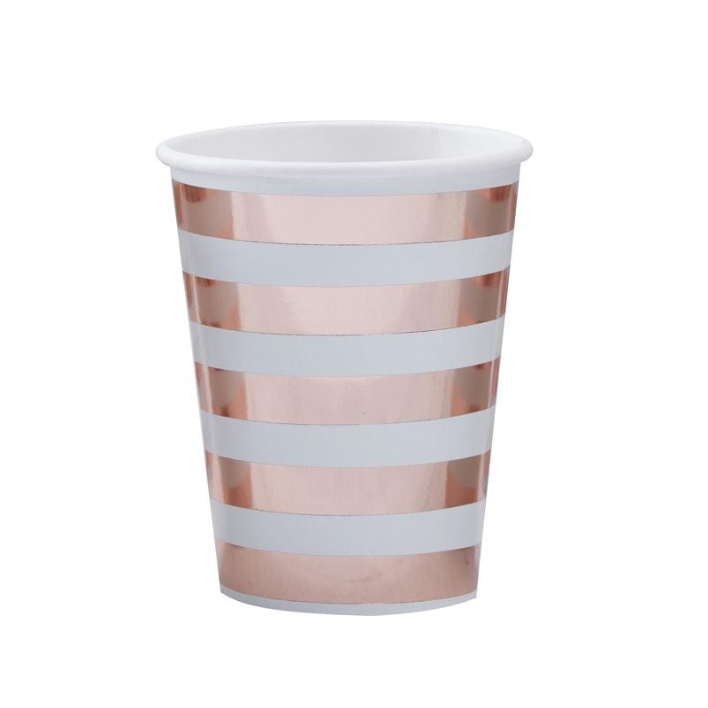 vaso rosa oro
