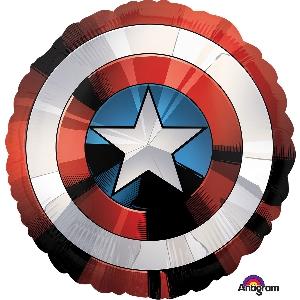 Globo-metalizado-escudo capitan america