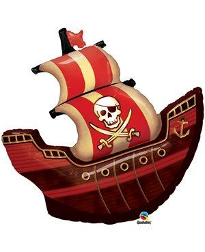 Globo-metalizado-barco-pirata