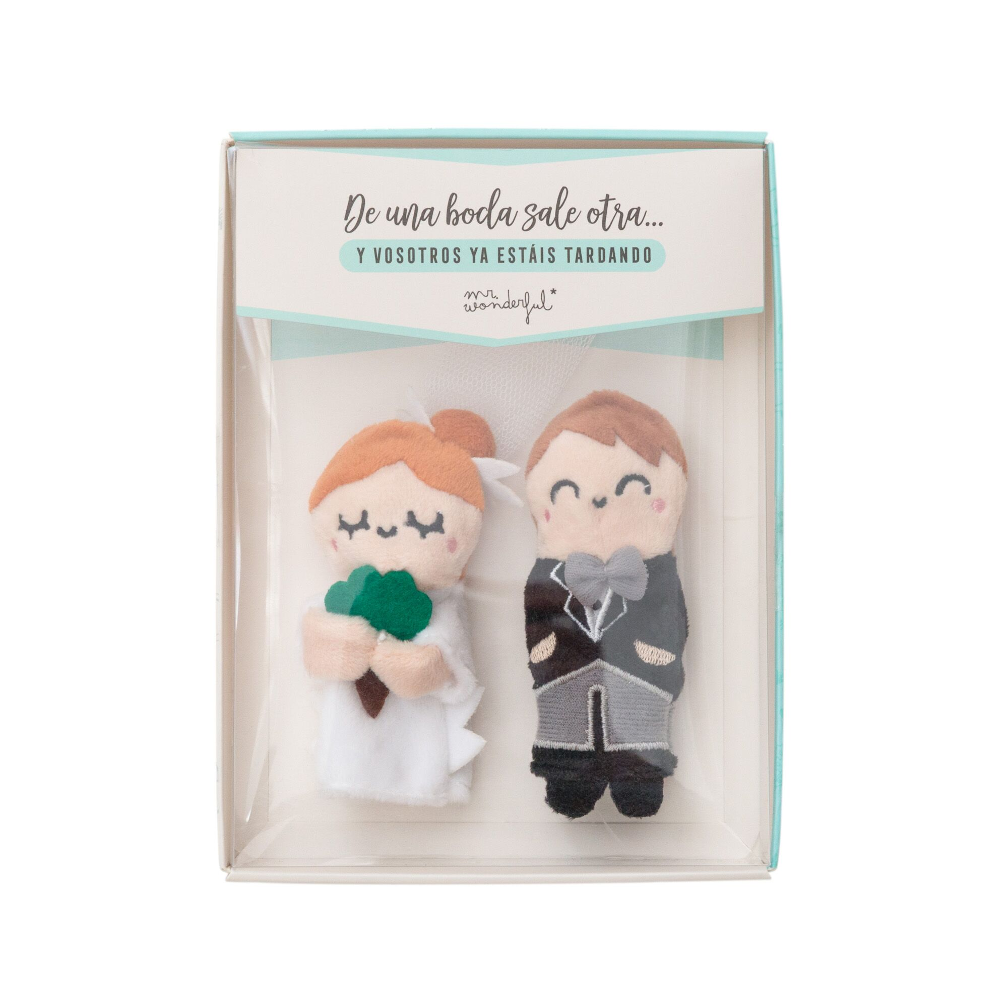 Marionetas de novios Mr wonderful