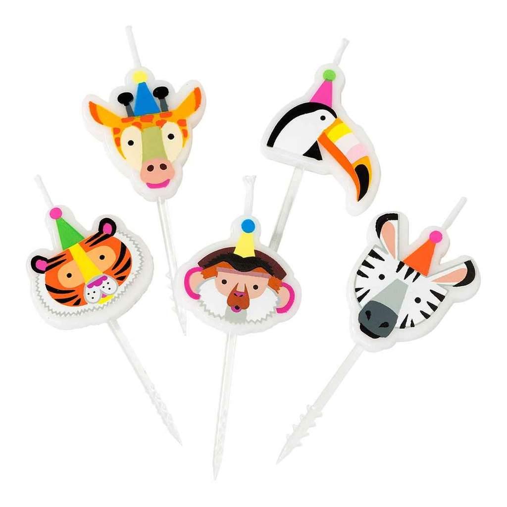 velas animal party