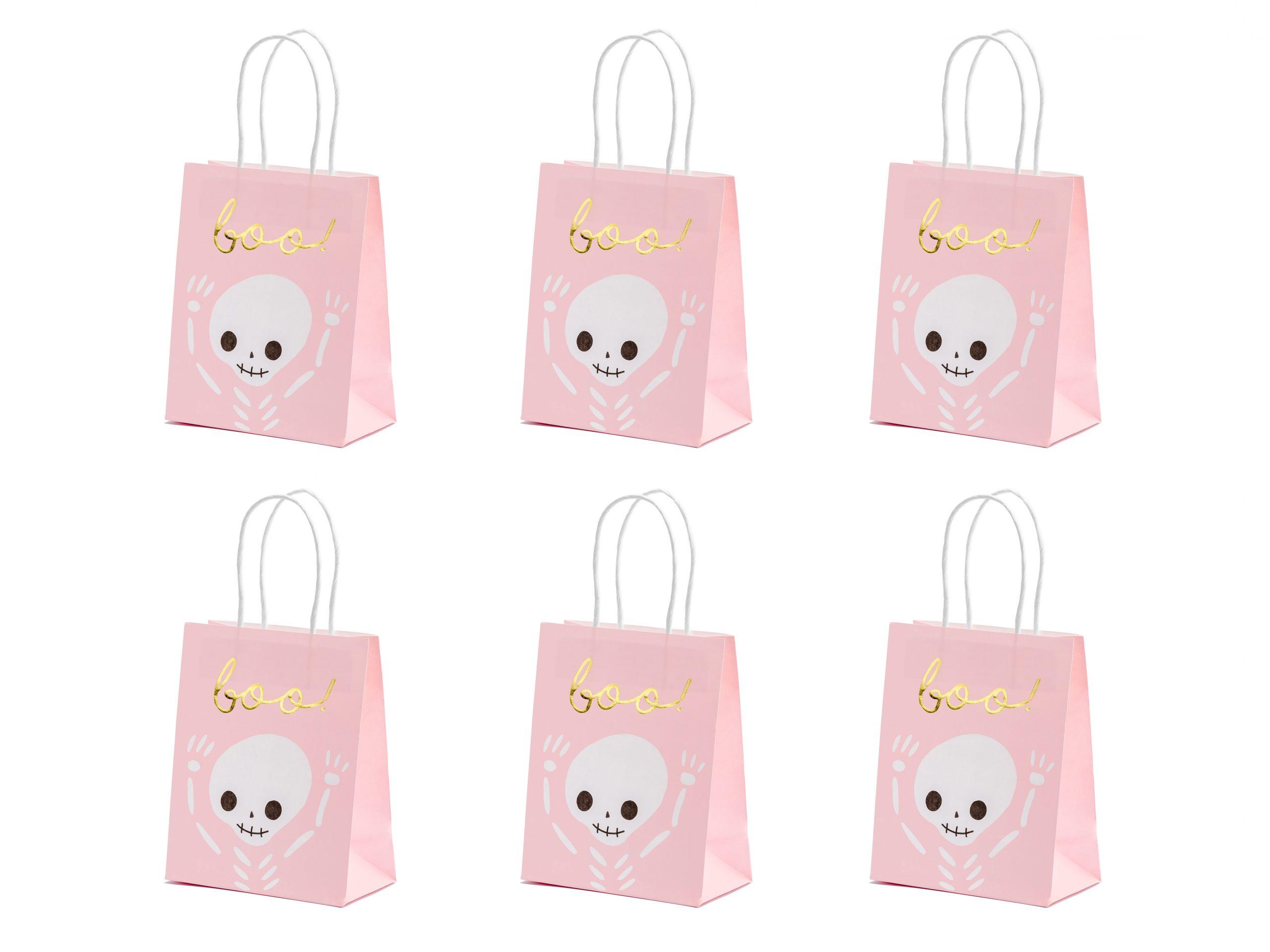 Bolsas de regalo rosas