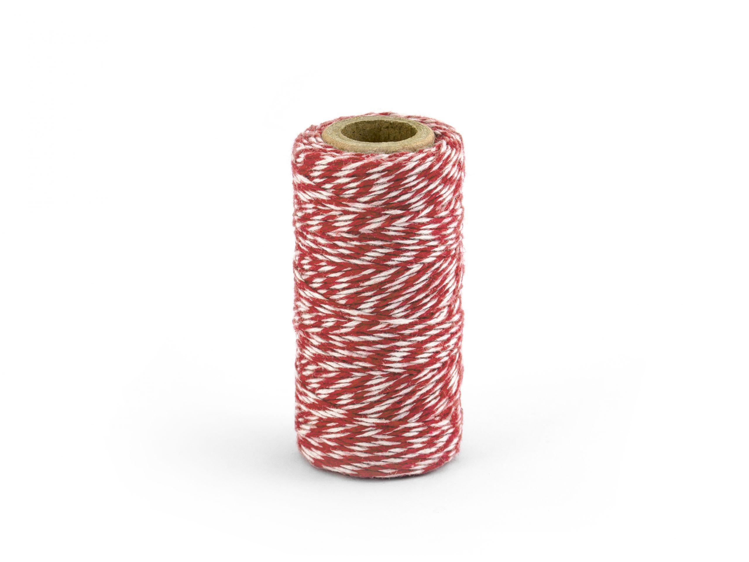 cordón rojo navidad