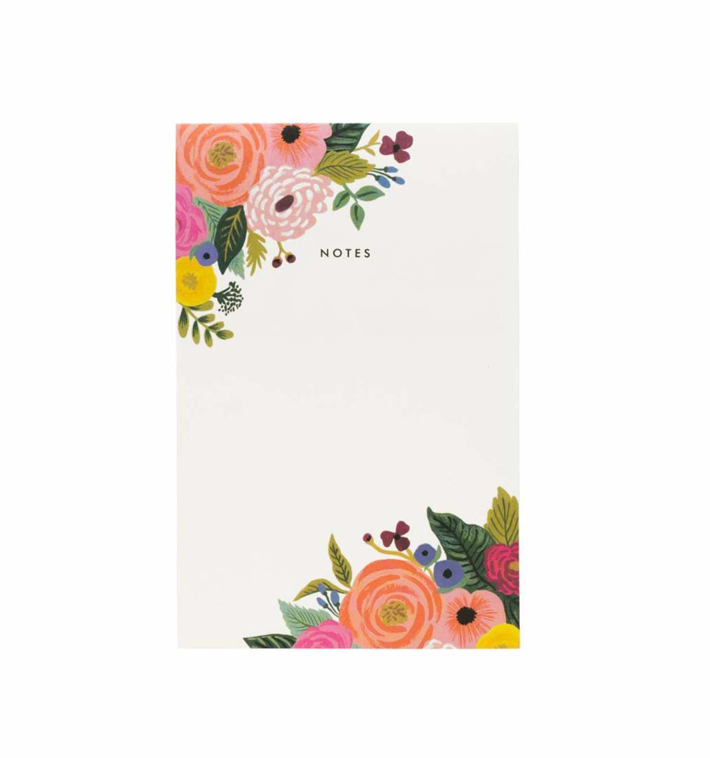 Bloc- notas-juliet-rose-rifle paper-co