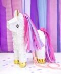 Piñata unicornio lila