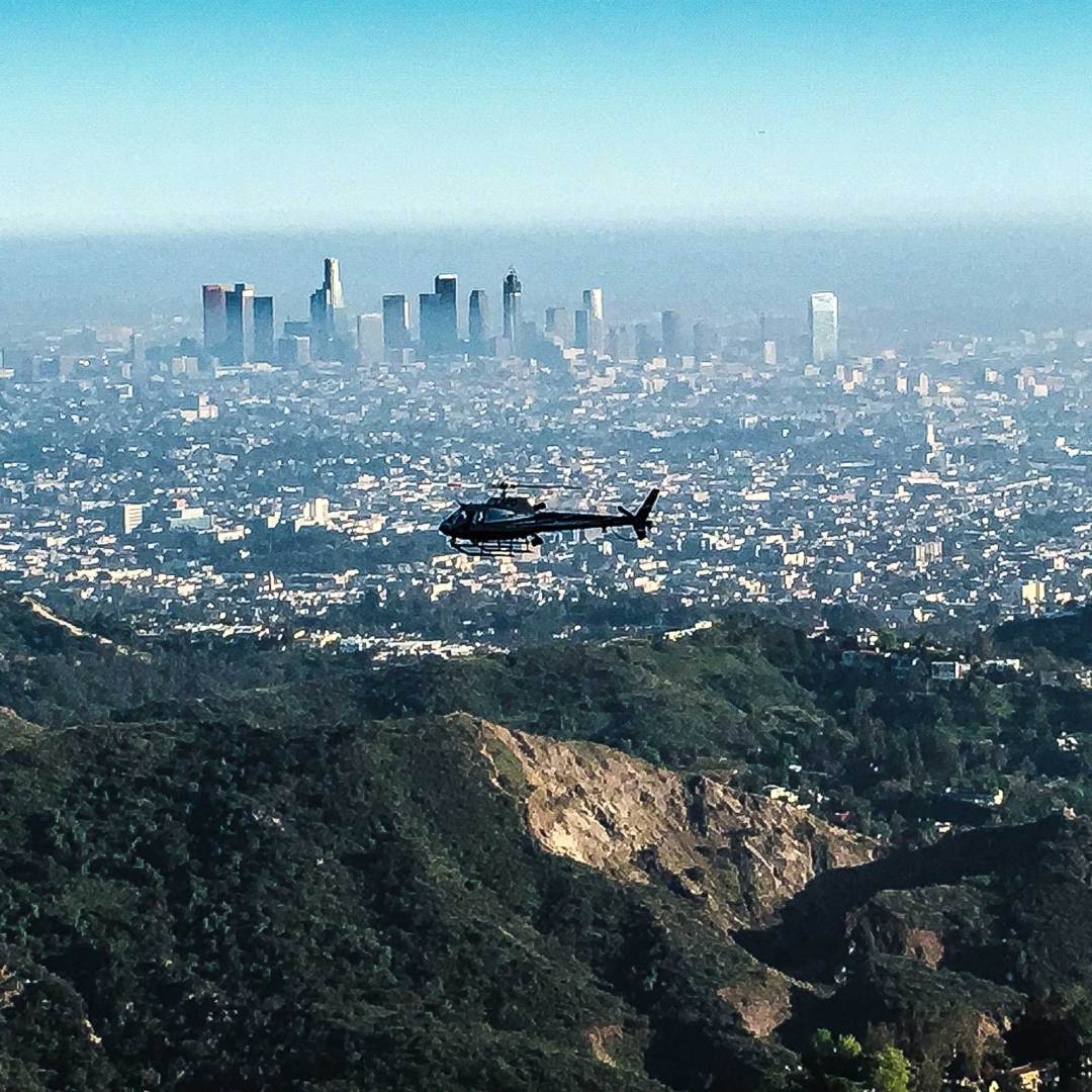 LAPD helicopter