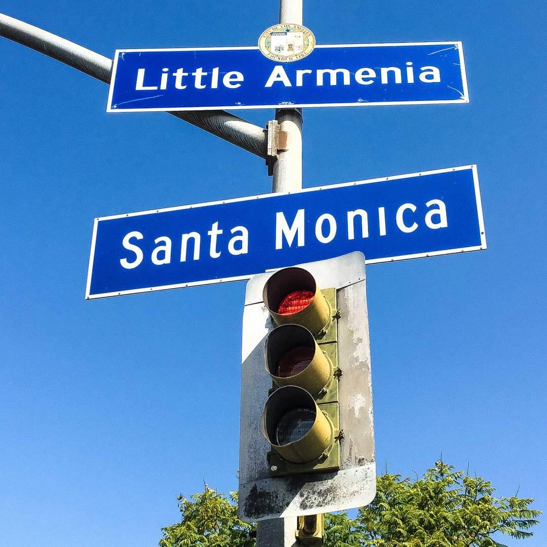 Little Armenia sign