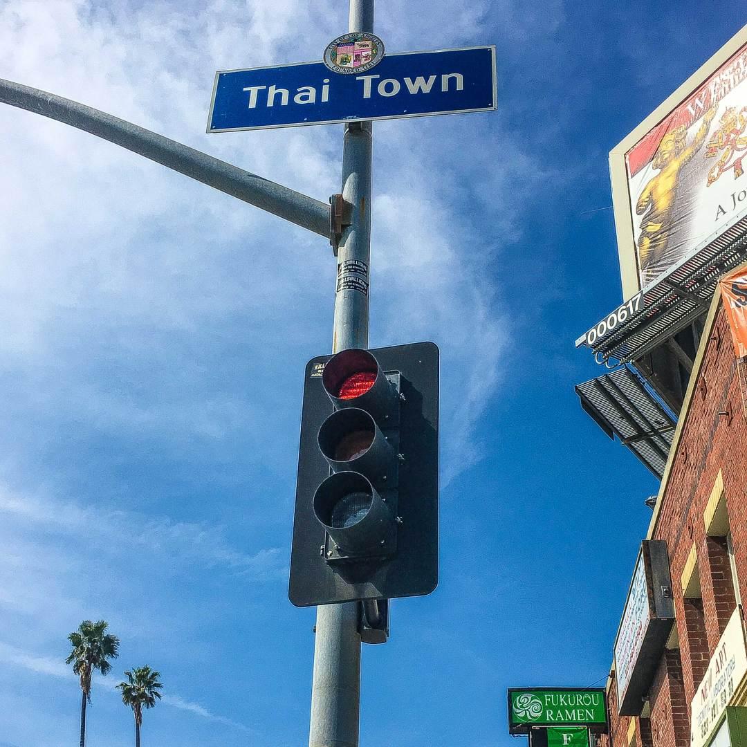 Thai Town sign