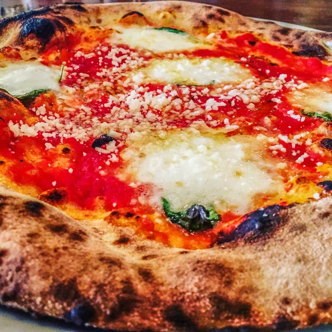 Margherita Pizza at Franny's Brooklyn