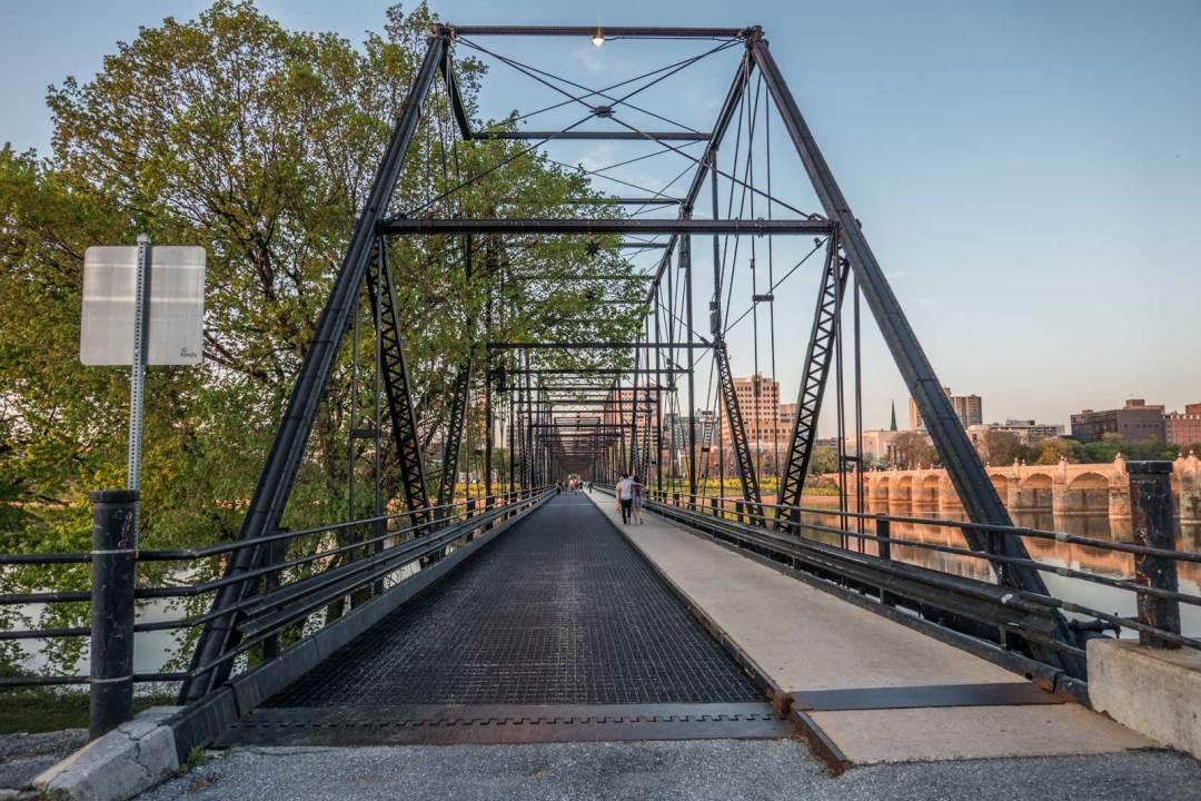 Walnut Street Bridge Harrisburg