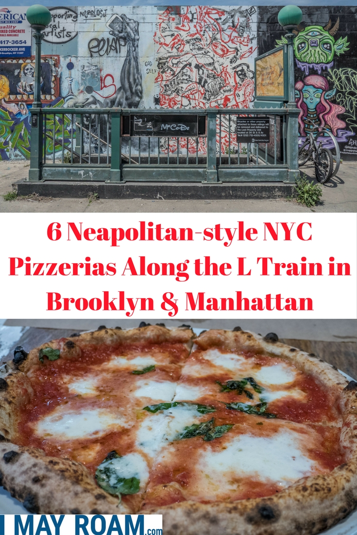 Pinterest 6 Neapolitan-syle NYC Pizzerias Along the L Train