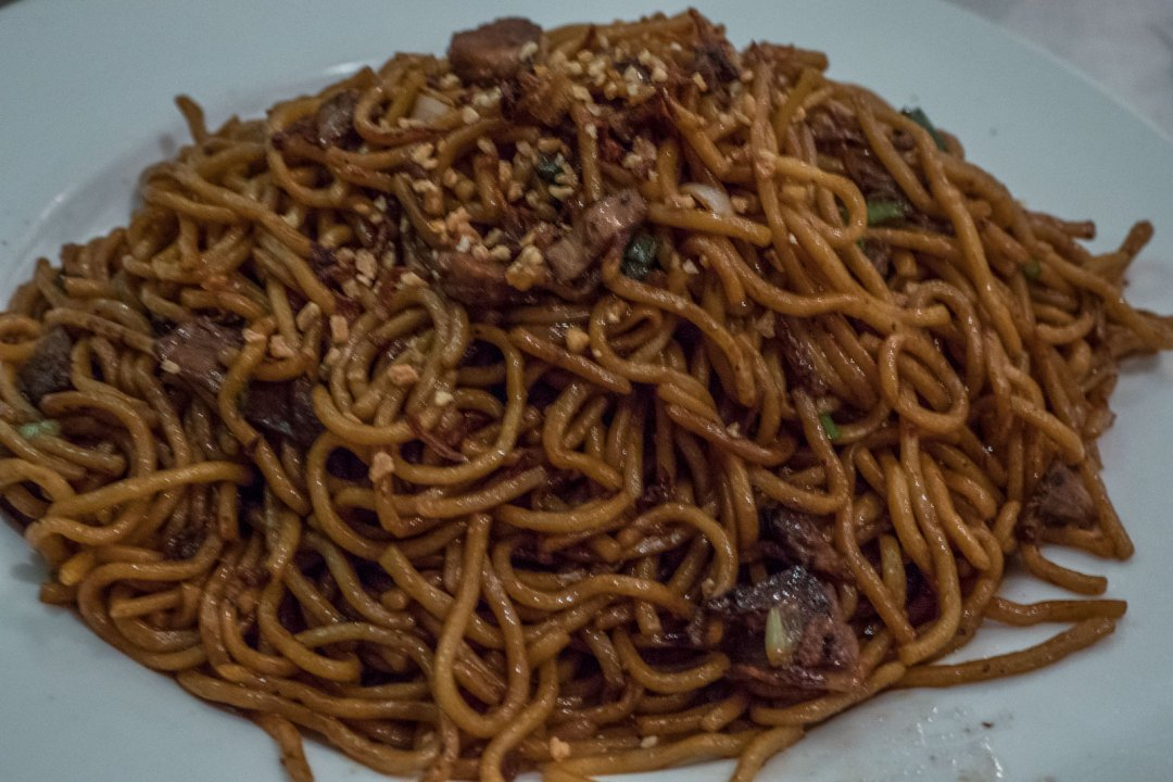 Rangoon Night Market Noodles at Mingala NYC