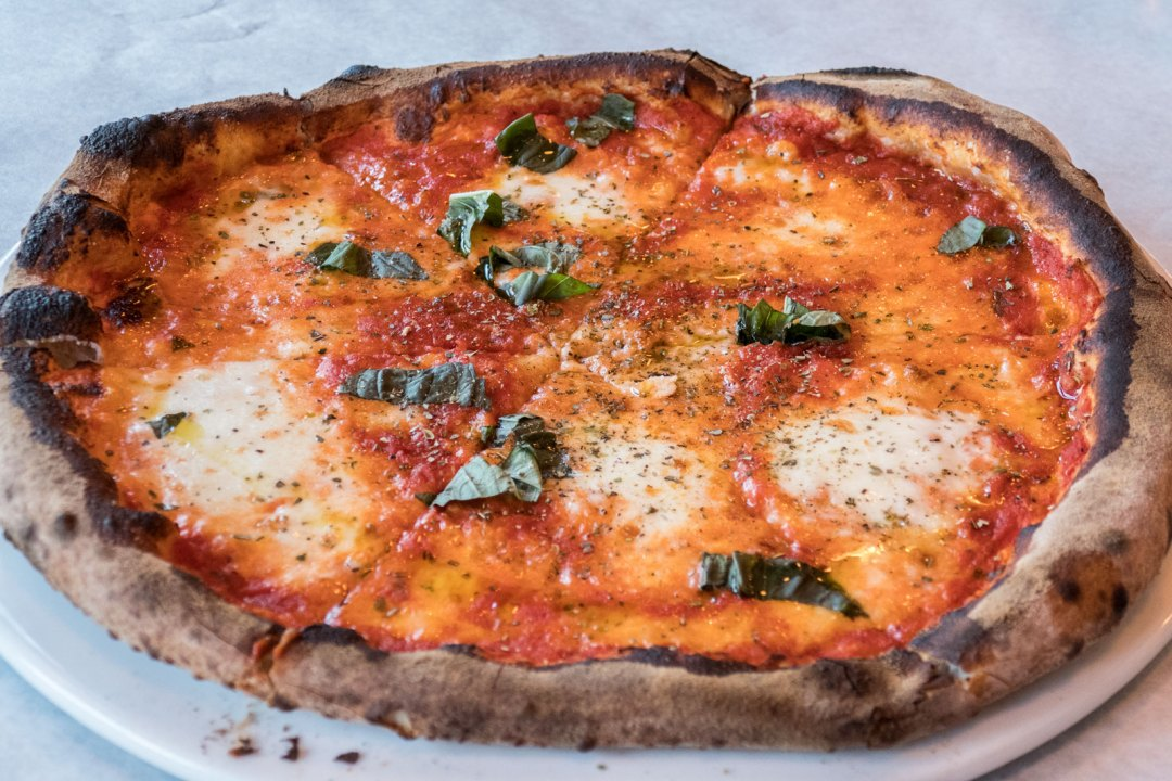 Margherita Pizza at La Grata South Bronx New York City