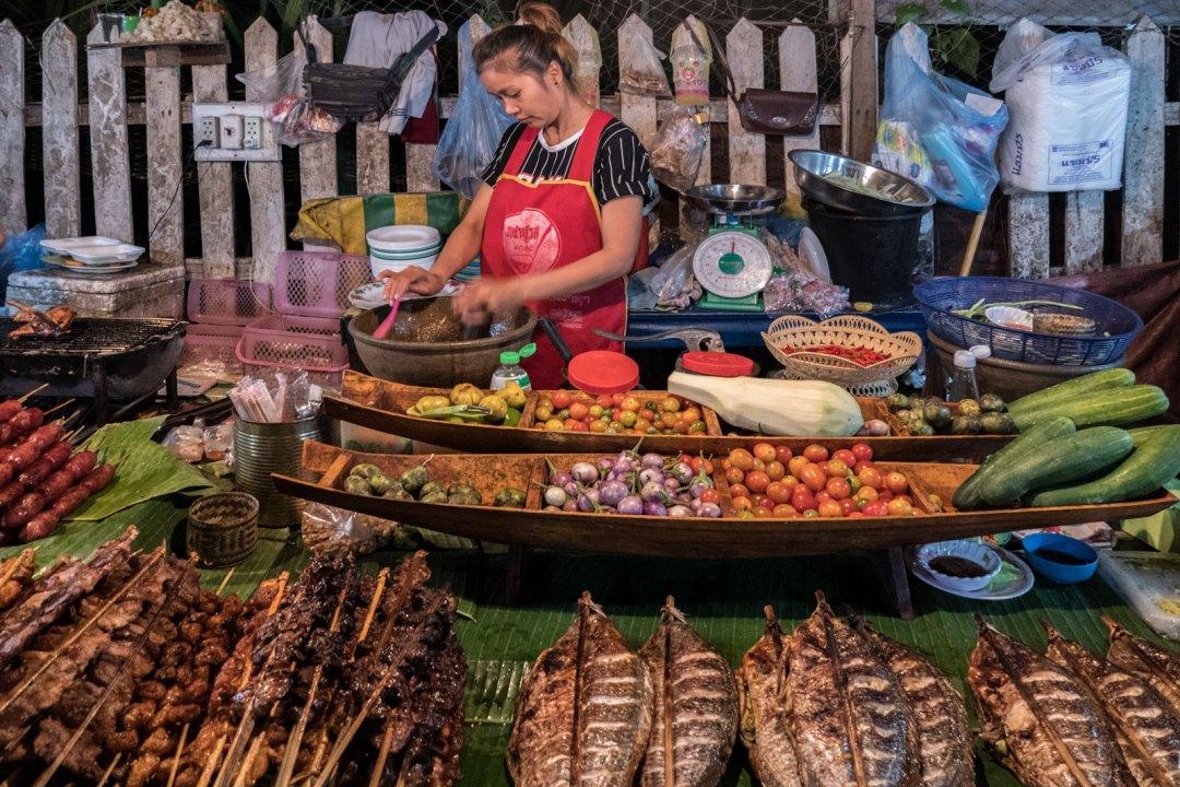 street food Luang Prabang Laos