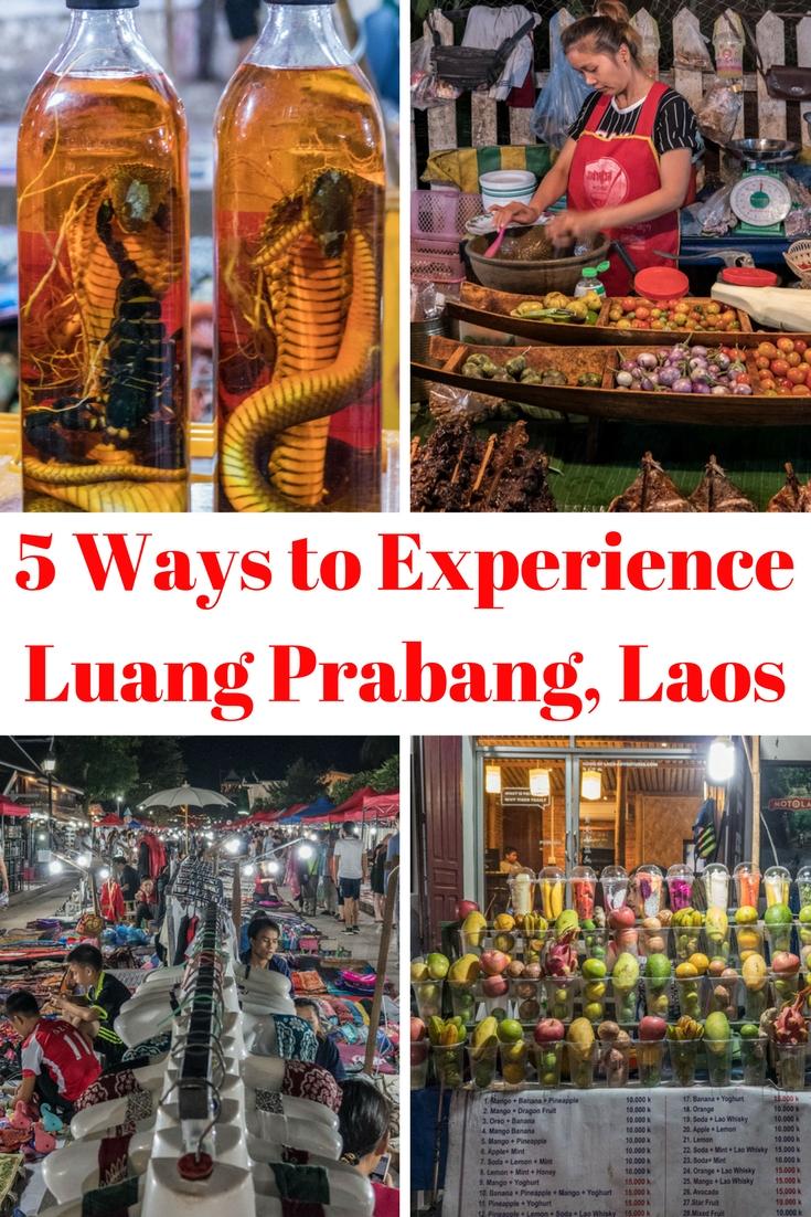 Pinterest 5 Ways to Experience Luang Prabang Laos