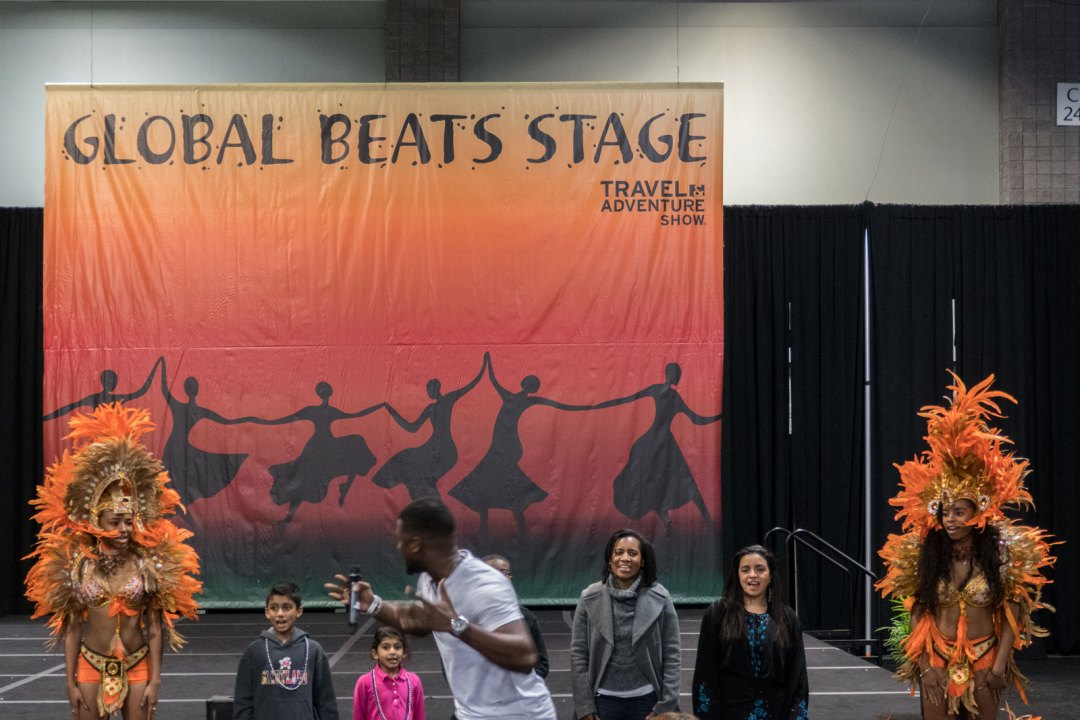 Global Beats Stage Travel and Adventure Show Washington DC