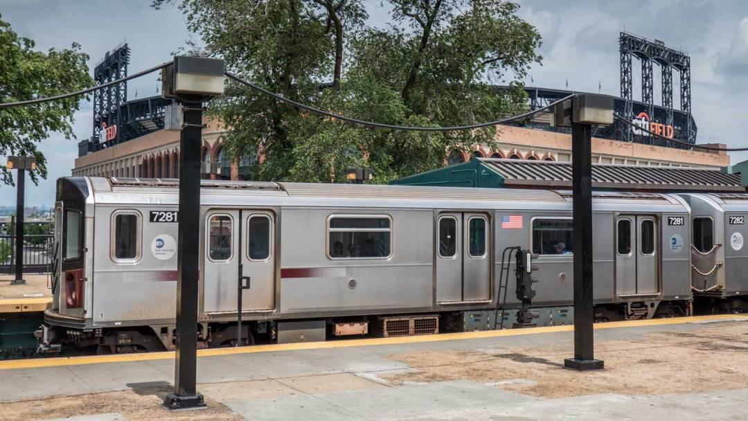 7 Train Citi Field New York Mets Flushing Queens New York City