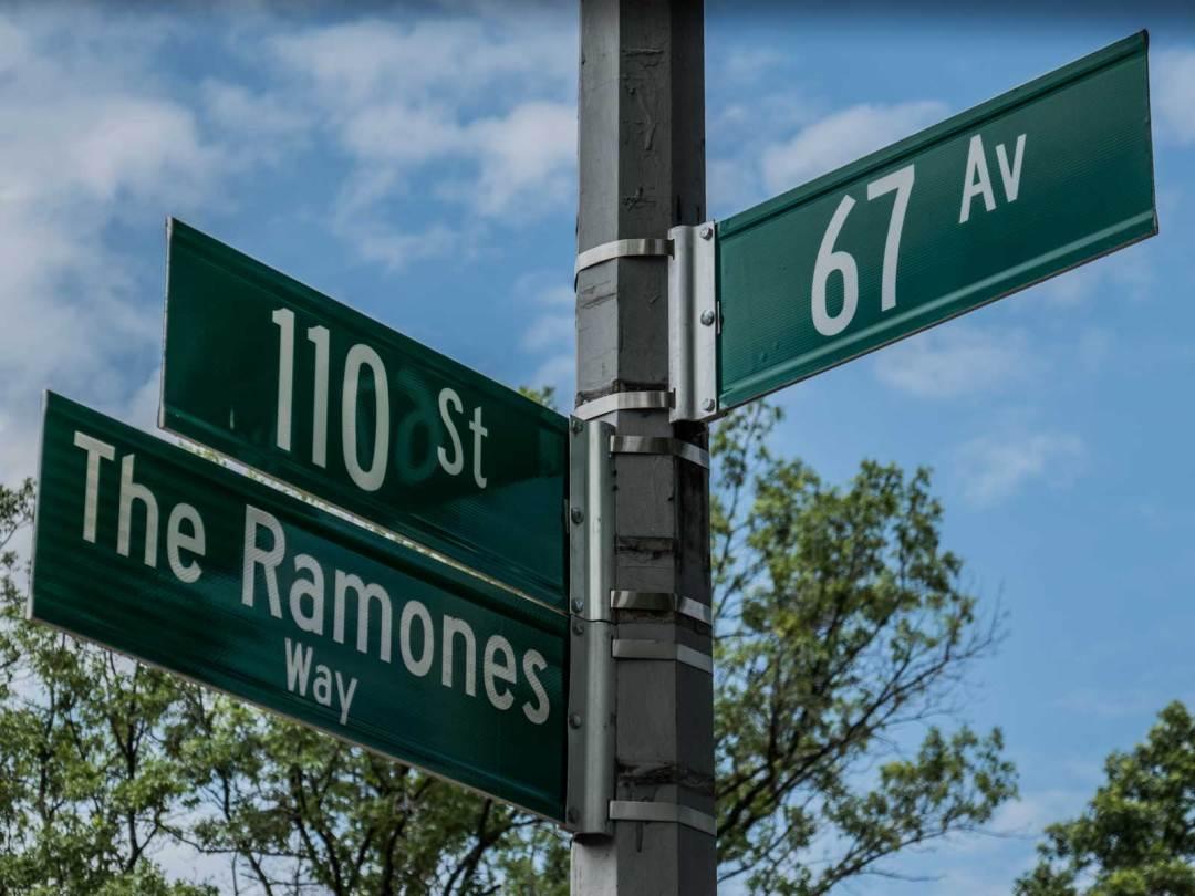 The Ramones Way Forest Hills High School Queens New York City