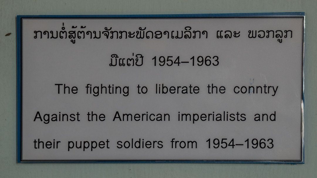 American Imperialists in Laos 1954-1963
