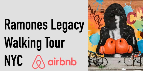Ramones Legacy Walking Tour Airbnb Experience