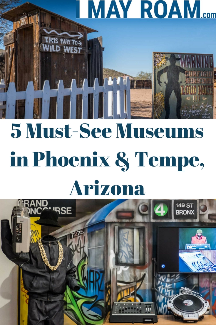 Pinterest Must-See Museums in Phoenix & Tempe Arizona