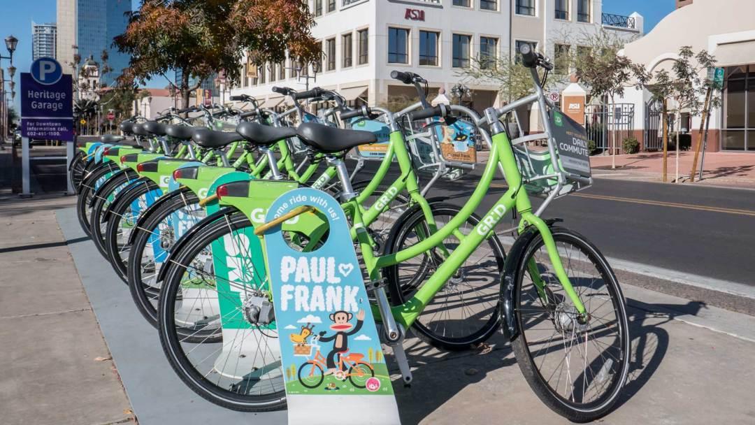 Grid Bike Hub
