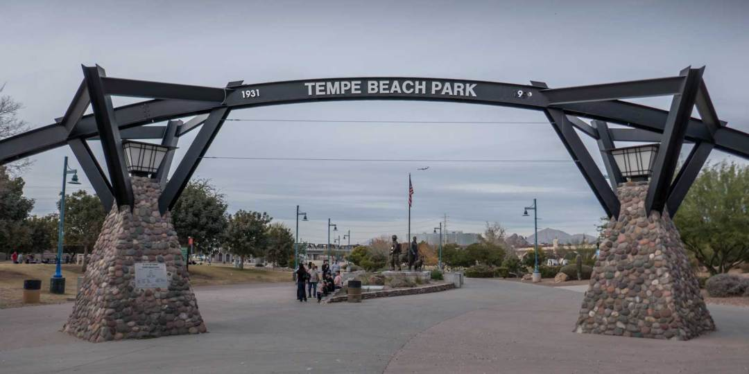 Tempe Beach Park Arizona