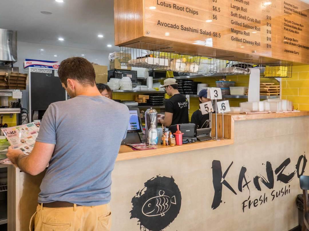Kanzo Fresh Sushi Parramatta Sydney Australia