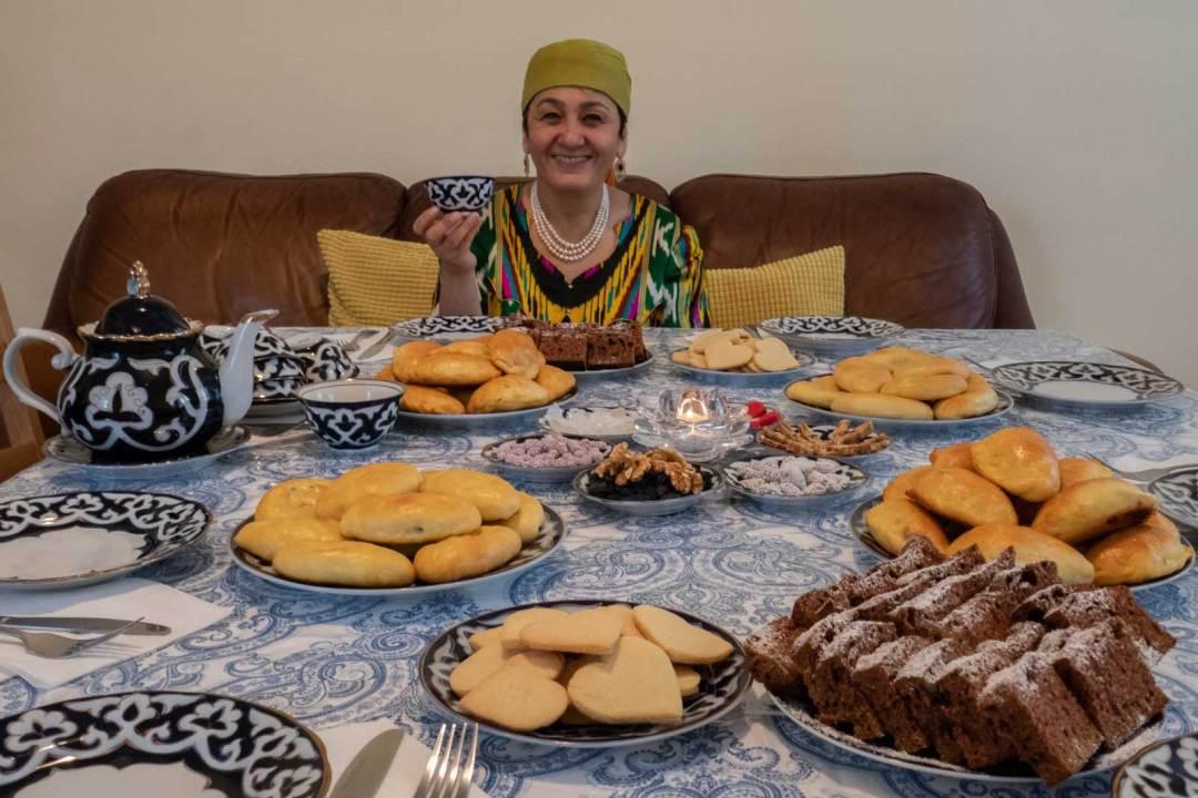 Damira League of Kitchens Uzbek Cooking Borough Park Brooklyn