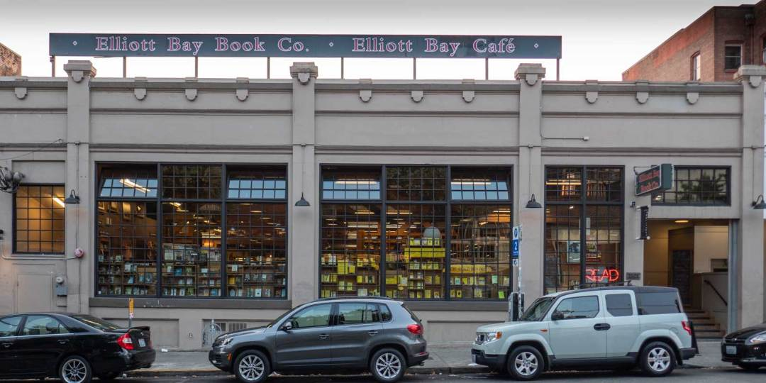 Elliot Bay Book Company in Capitol Hill Seattle